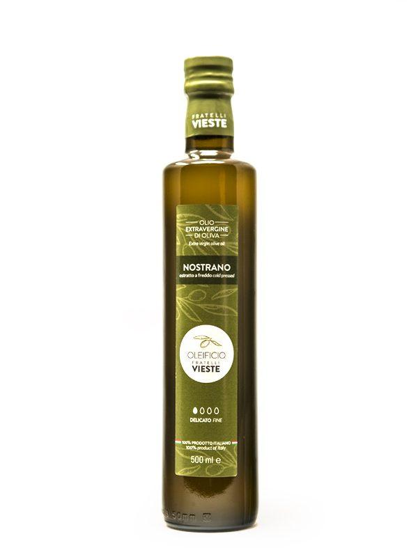 Nostrano-500ml-Olio-extravergine-doliva-Oleificio-Fratelli-Vieste